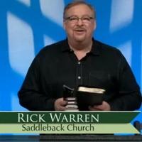 Rick Warren — Let's Finish the Task